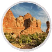 Colors Of Chesler Park Round Beach Towel