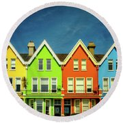 Colours Of Whitehead Round Beach Towel
