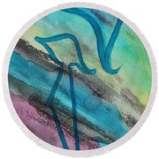 Comely Kuf Round Beach Towel