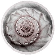 Coming Or Going Round Beach Towel by Tammy Schneider