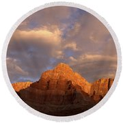 Commanche Point  Grand Canyon National Park Round Beach Towel