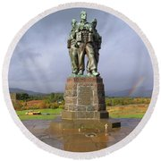 Commando Memorial Round Beach Towel