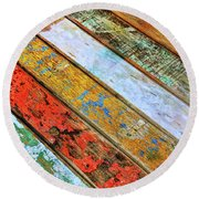 Round Beach Towel featuring the photograph Common Spot by Jamart Photography