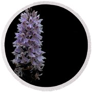 Common Spotted Orchid Round Beach Towel by Keith Elliott