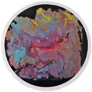 Concentrate Round Beach Towel