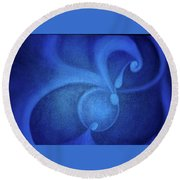 Conception Round Beach Towel