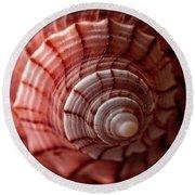 Conch Shell Round Beach Towel