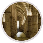 Paris, France - Conciergerie - Exit Round Beach Towel