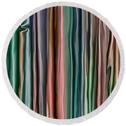 Consideration Of Imperfection Round Beach Towel