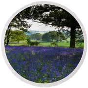 Constable Country Round Beach Towel