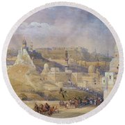 Constantinople Round Beach Towel
