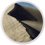 Contours Round Beach Towel by Chad Dutson