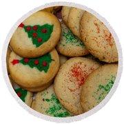Cookies 103 Round Beach Towel