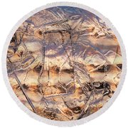 Cool Ice Round Beach Towel