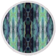 Cool Marrakesh- Art By Linda Woods Round Beach Towel