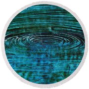 Cool Spin Round Beach Towel