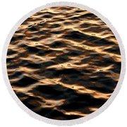 Copper Hills Round Beach Towel