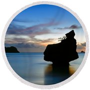 Coromandel Dawn Round Beach Towel