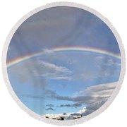 Coronado Rainbows Round Beach Towel