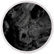 Corpses Fossil Round Beach Towel