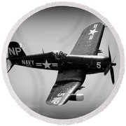 Corsair Flight Round Beach Towel