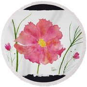 More Cosmos Round Beach Towel