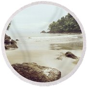 Costa Rica Round Beach Towel