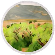 Cottonwood Round Beach Towel