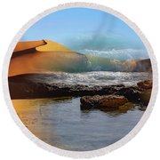 Could This Really Happen? Round Beach Towel