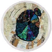 Counting The Years Round Beach Towel