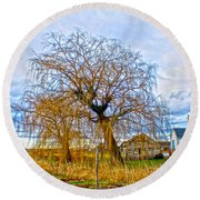 Country Life Artististic Rendering Round Beach Towel