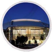 Cowboys Stadium 711116 Round Beach Towel