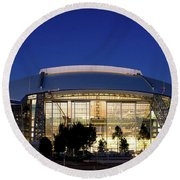 Cowboys Stadium 711116 Round Beach Towel