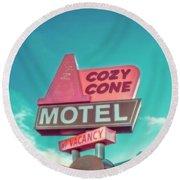 Cozy Cone Round Beach Towel