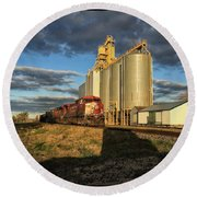 Cp Train Round Beach Towel