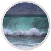 Crashing Wave Round Beach Towel