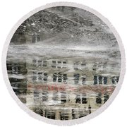 Cream City Cold Round Beach Towel