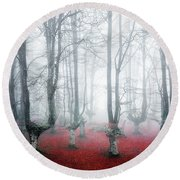 Creatures Of Egirinao II Round Beach Towel