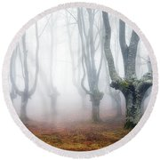 Creatures Of Egirinao Round Beach Towel