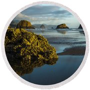 Crescent Beach Round Beach Towel