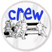 Crew Round Beach Towel