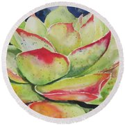 Crimison Queen Round Beach Towel