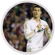 Cristiano Ronaldo 4 Round Beach Towel