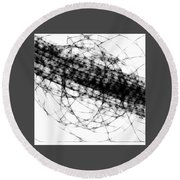 Crown Of Thorns Round Beach Towel