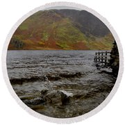 Crummock Splash Round Beach Towel