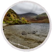 Crummock Water  Round Beach Towel