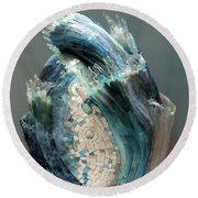 Crysalis II Round Beach Towel