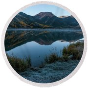 Crystal Lake - 0565 Round Beach Towel