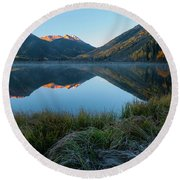 Crystal Lake - 0577 Round Beach Towel