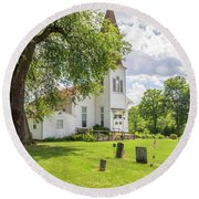 Curtin United Methodist Round Beach Towel